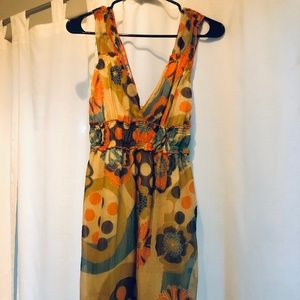 Fire Los Angeles Dress, lined, size M